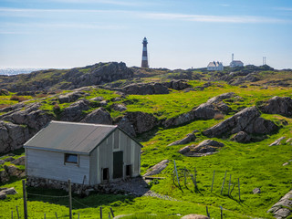 Farm and lighthouse