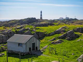 Farm and lighthouse