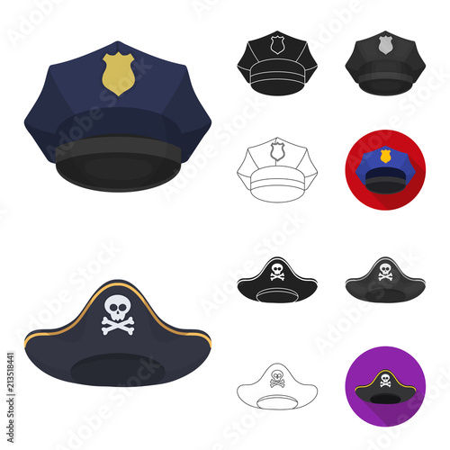 Different kinds of hats cartoon 30e74c3c8b80