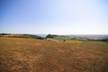 Peak Hill in Sidmouth, Devon