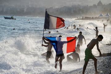 Soccer Football - World Cup - Final - France vs Croatia - Nice