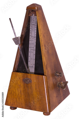 A metronome is a device that produces an audible beat—a click at
