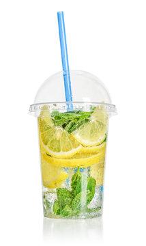 Take away drinks concept.