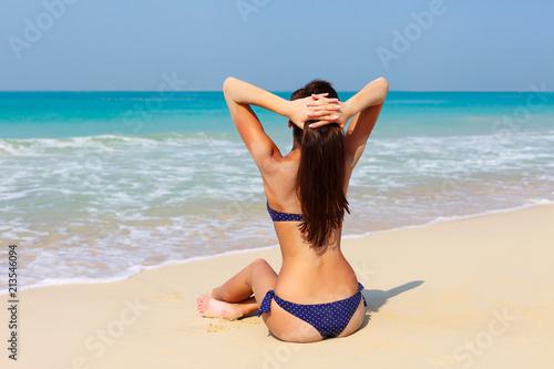 School girl beach sex