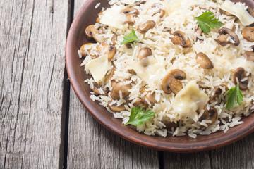 Traditional Italian risotto