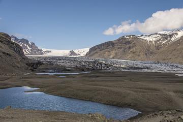 Skaftafellsjökull in the distance