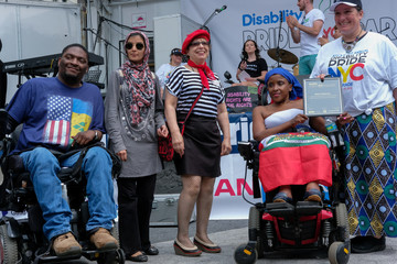 Henry and his group BCID win the contest for best costumes at the 2018 Disability Pride Parade in New York