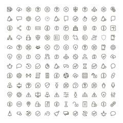 Interface icon set