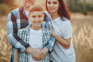 happy family og three
