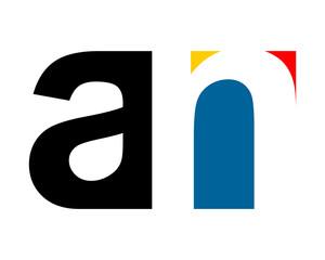 gestalt typography alphabet typeset typeface logotype font image vector icon