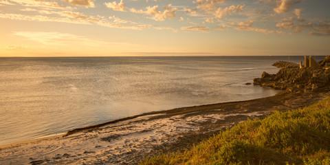 Wall Mural - cottesloe beach sunset perth australia