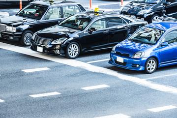 大阪の道路風景