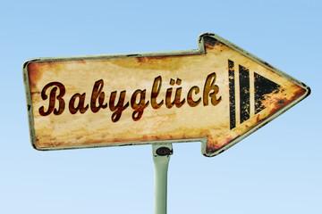 Schild 328 - Babyglück