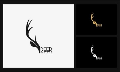 deer antlers logo