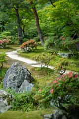 Fotobehang Tuin 日本庭園