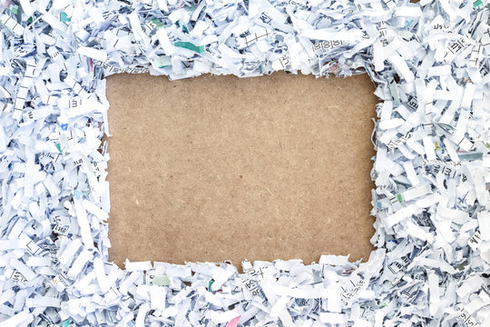 board paper recycle document shredding environmental conservation