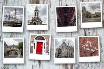 Ireland and Dublin  photo collage