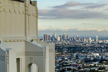 Griffith Observatory, Los Angeles Skyline, California, Usa