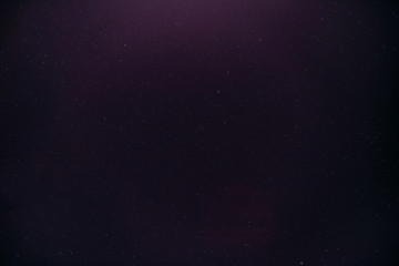 Abstract Night Starry Sky Background In Purple Magenta Colours.