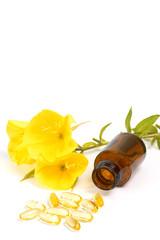 gelatin capsules with evening primroses
