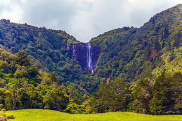 The Wairere waterfall
