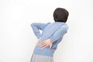 女性 ミドルエイジ  腰痛