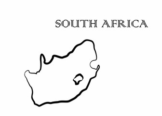 the South Africa map
