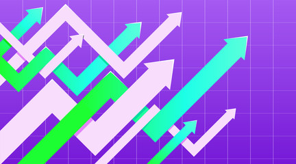 Financial arrow graphs