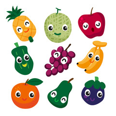 fruit vector collection design