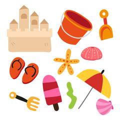 toys vector collection design