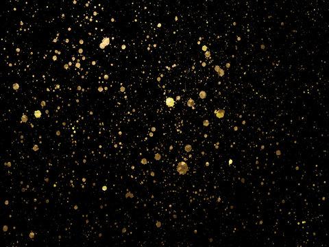 Gold spot one black background for Design Templates for Brochure