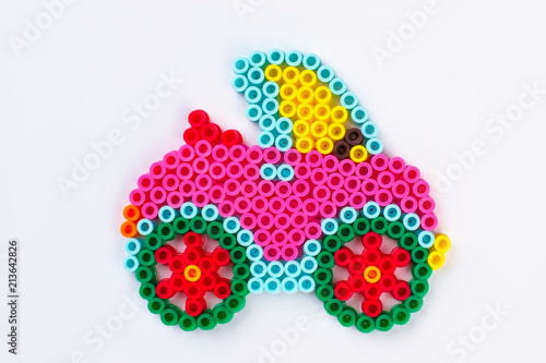 Car perler beads