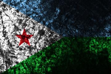 Djibouti smoke flag