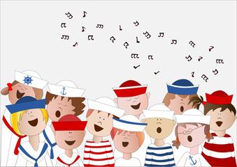 coro di marinai