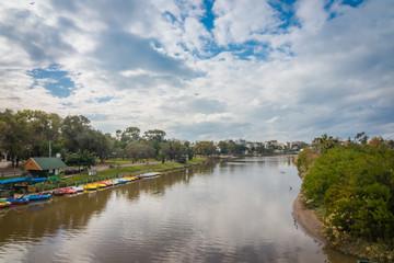 Yarkon River at daytime, Tel Aviv, Israel