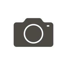 Camera icon vector. Photo symbol. Trendy flat image ui sign design. Camera graphic pictogram for web