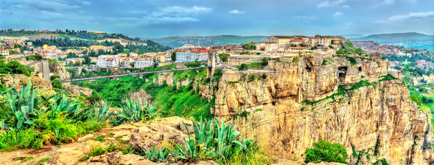 Fotobehang Algerije Panorama of Constantine, a major city in Algeria