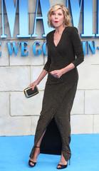 Christine Baranski attends the world premiere of Mamma Mia! Here We Go Again at the Apollo in Hammersmith, London