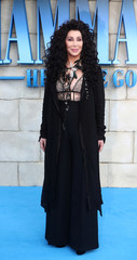 Cher attends the world premiere of Mamma Mia! Here We Go Again at the Apollo in Hammersmith, London