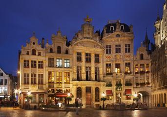 Fototapeta Grand Place in Brussels. Belgium