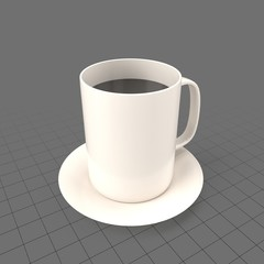 Full coffee mug