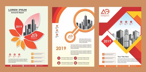 vector design for cover, layout, brochure, magazine, catalog, and flyer