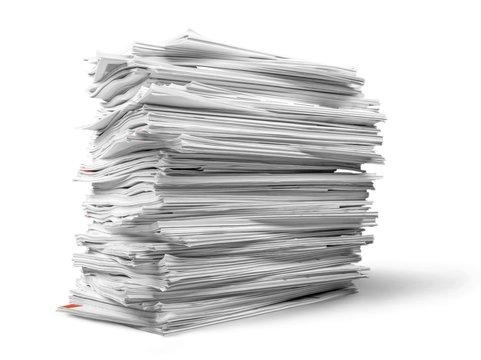 Stack of Magazines / Notebooks