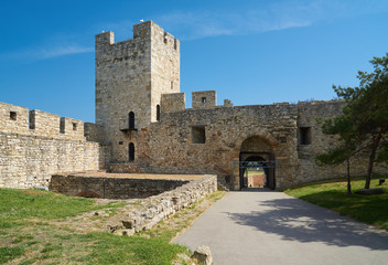 In Belgrade fortress