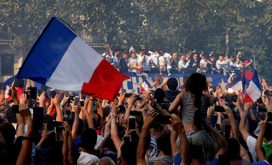 World Cup - France Victory Parade