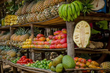 Madagascar fruits from Nosy Be