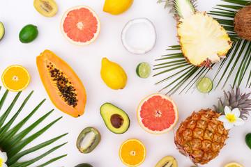 Summer diet, fresh fruits