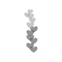 Hearts icon vector icon. Simple element illustration. Hearts symbol design. Can be used for web and mobile.
