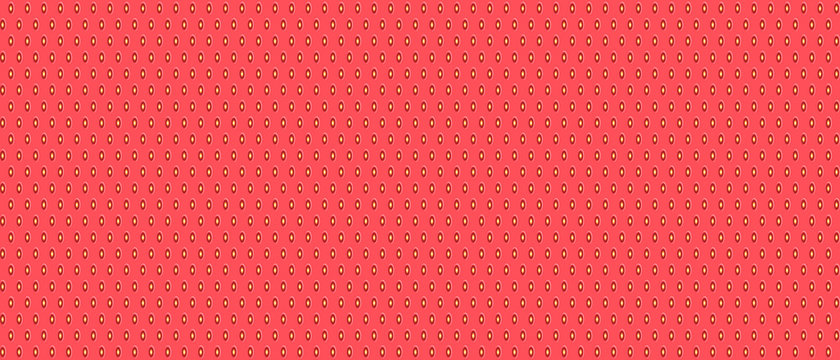 Seamless strawberry pattern. Pink strawberry background. Vector illustration