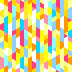 Seamless multicolored pattern with stripes. Abstract geometric wallpaper of the surface. Striped texture with stylish and bright colors. Art creative. Printing on flyers, posters and other